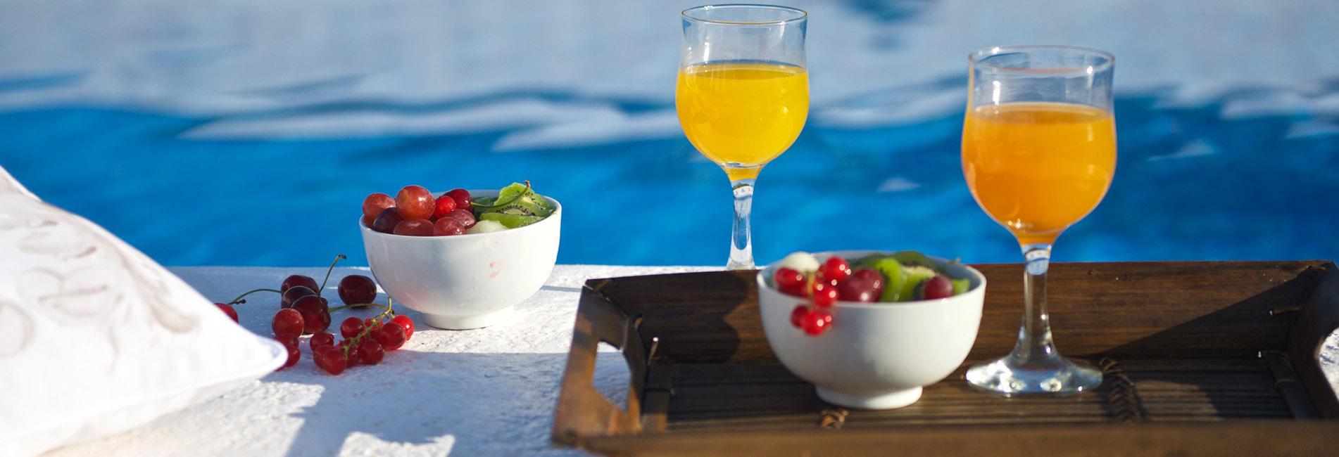 El sabor lo ponen en la mesa nuestros naranjos y el aceite de oliva virgen